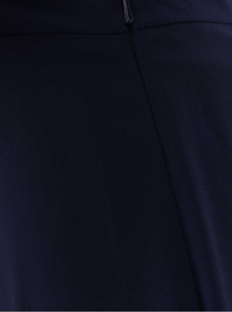 Fustă plisată Dorothy Perkins Petite albastru închis