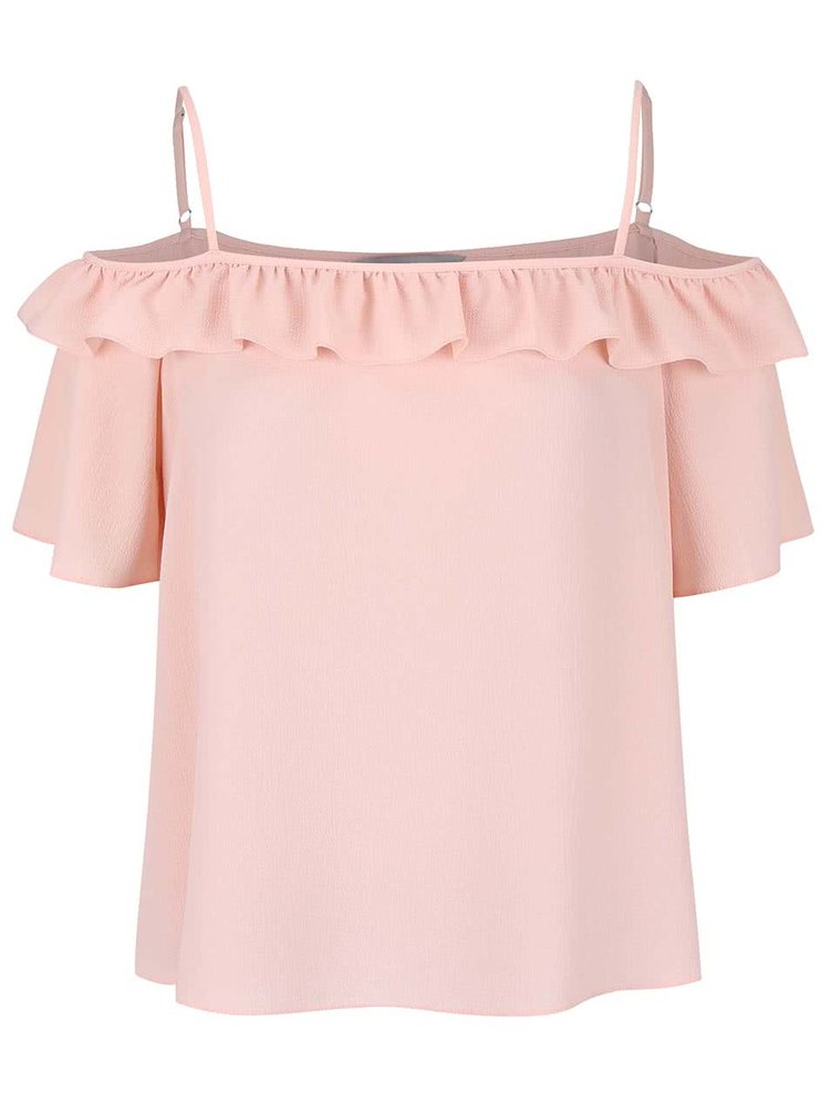 Top Dorothy Perkins Petite roz deschis