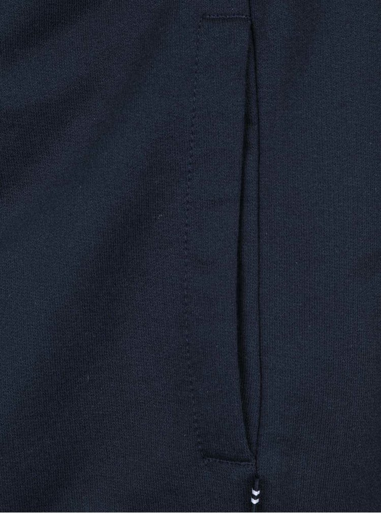 Tmavomodrá pánska mikina na zips Nautica