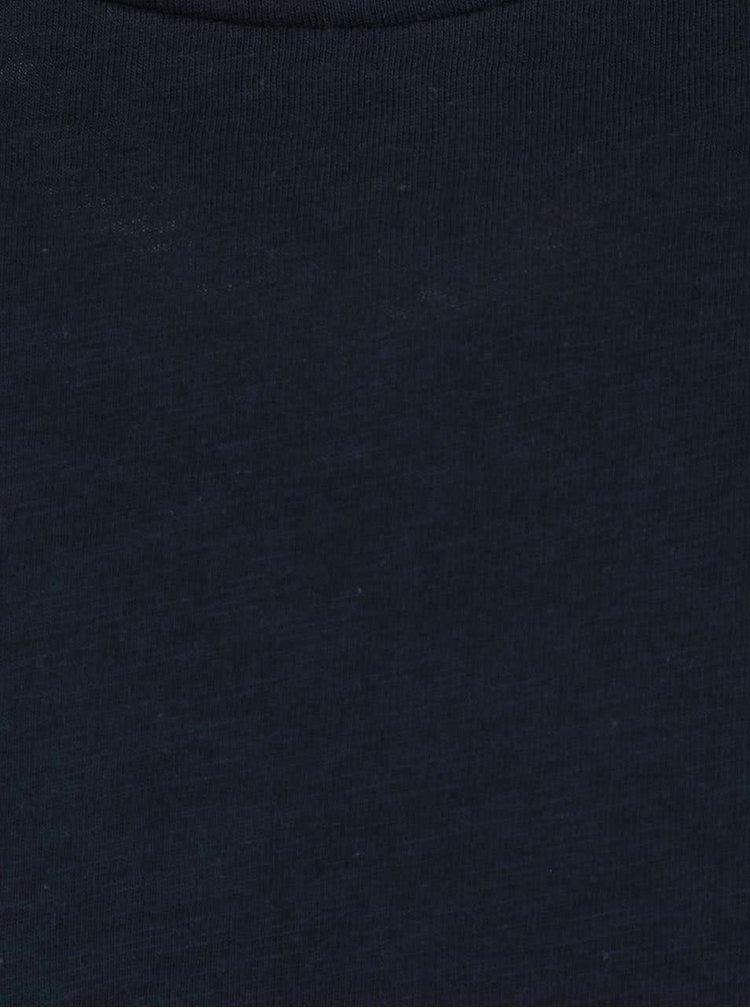 Tmavě modré pánské triko s dlouhým rukávem Nautica