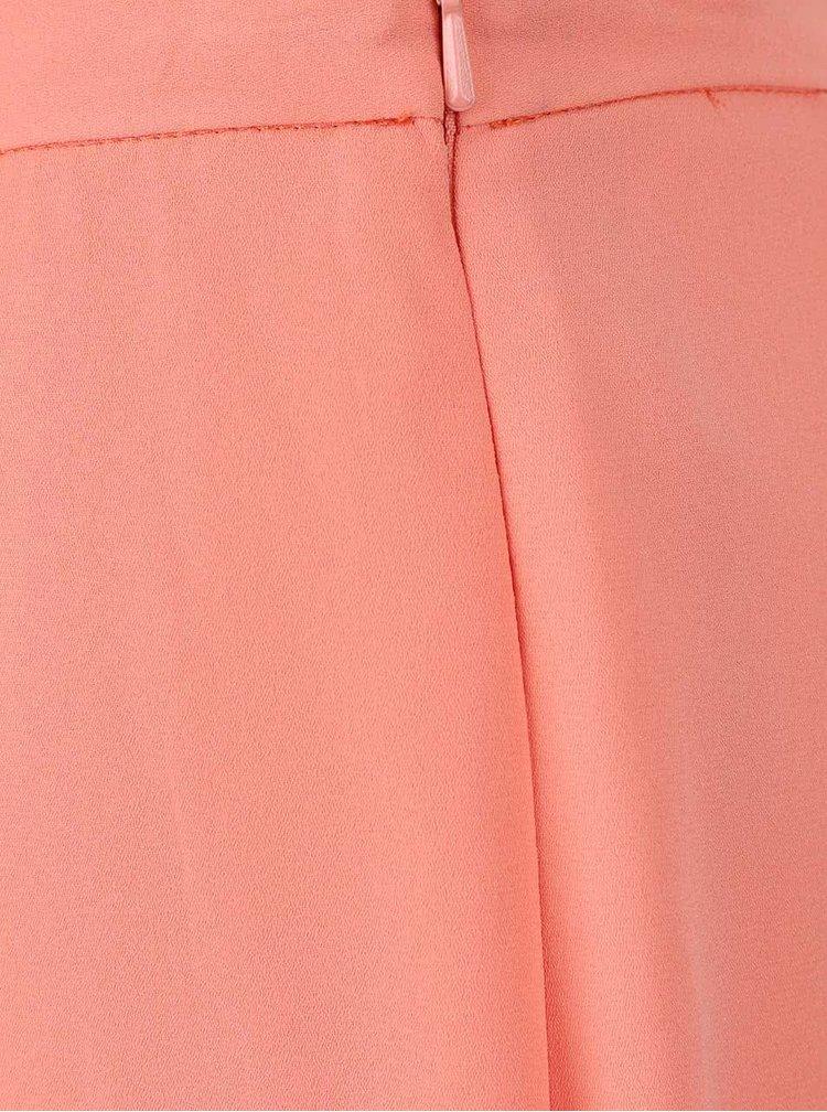 Fusta plisata Dorothy Perkins Petite roz