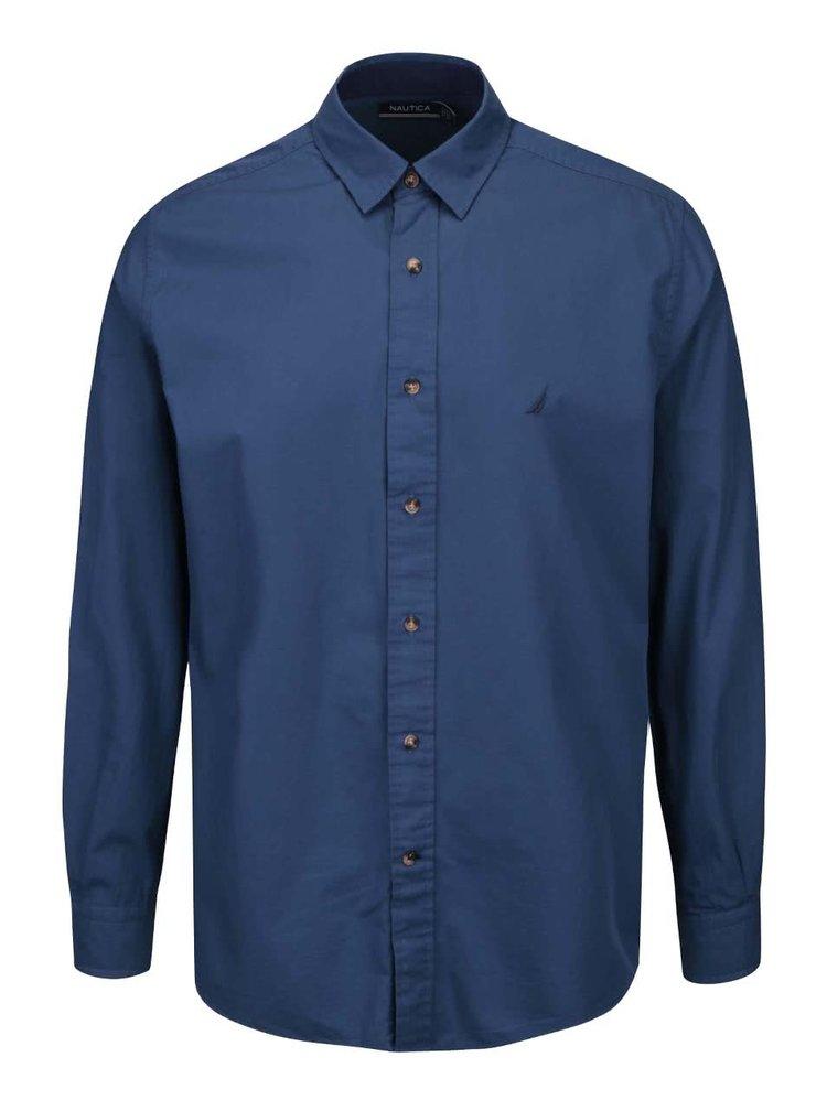Tmavomodrá pánska košeľa Nautica
