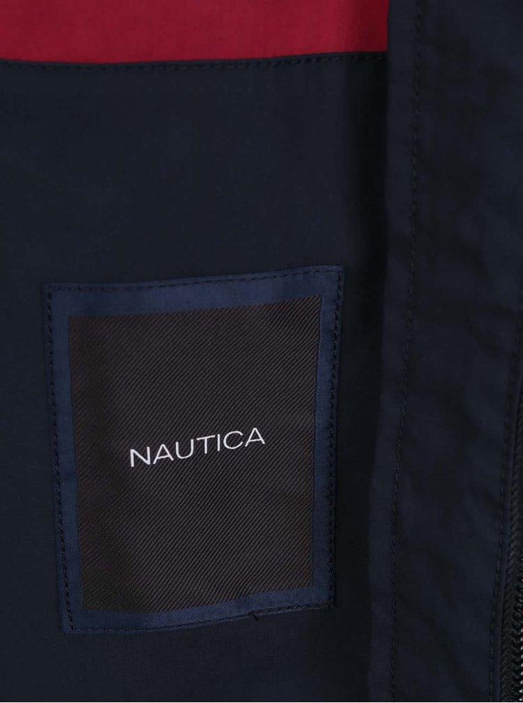 Tmavě modrá pánská bunda Nautica