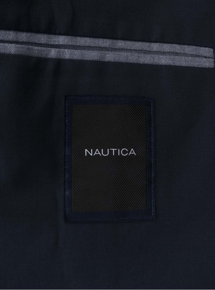 Tmavomodrá pánska bunda Nautica