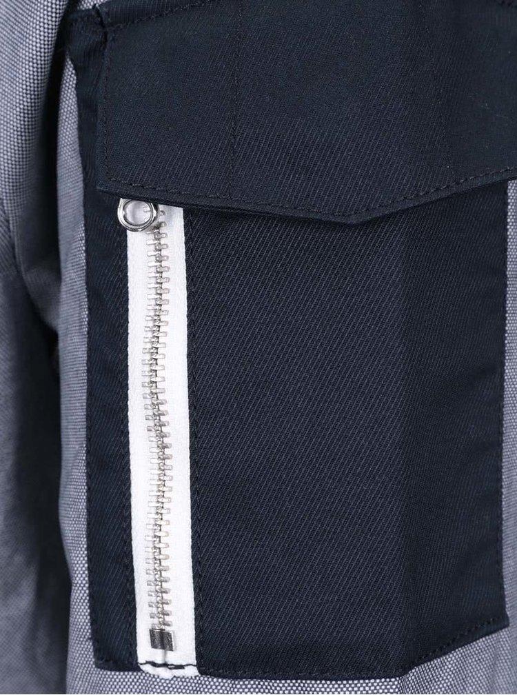 Modro-sivá pánska bunda Nautica