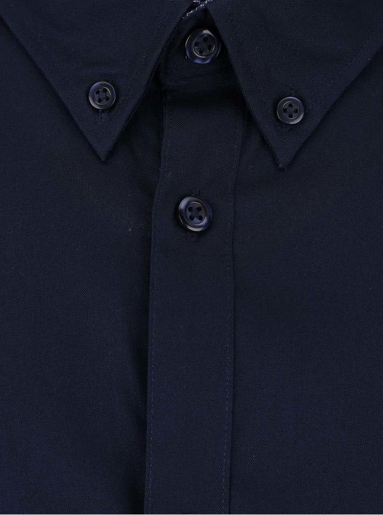 Tmavě modrá formální slim fit košile Selected Homme Mark
