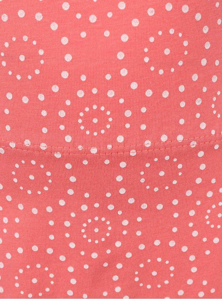 Ružové dievčenské vzorované šaty name it Tvigga