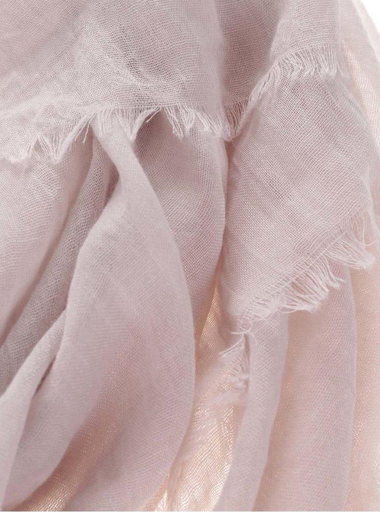 Eşarfă Haily´s Viola roz pal