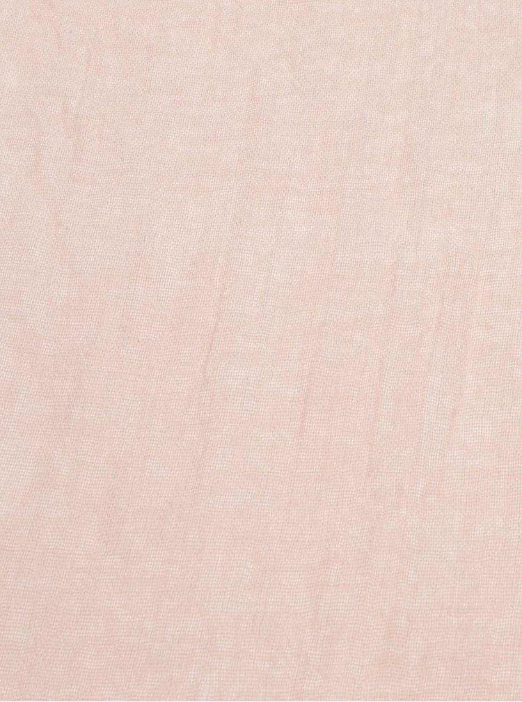 Eşarfă Haily´s Viola roz prăfuit