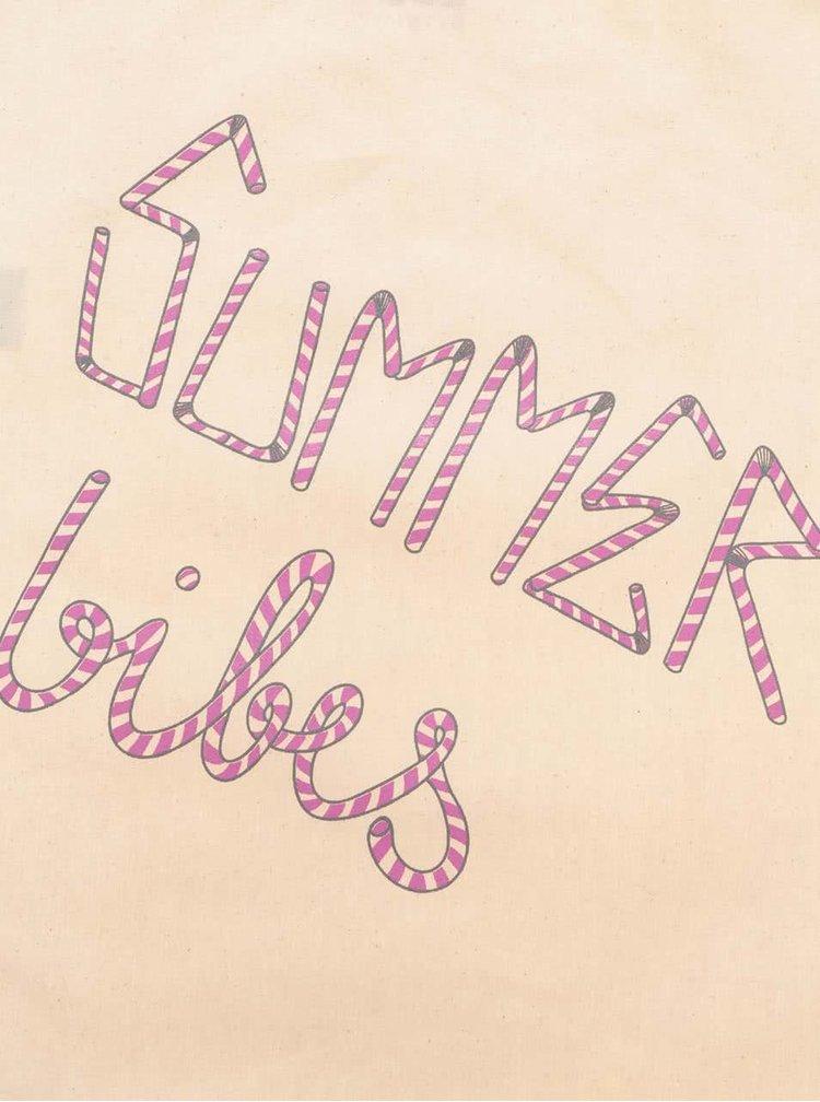 Světle béžový unisex vak ZOOT Originál Summer Vibes