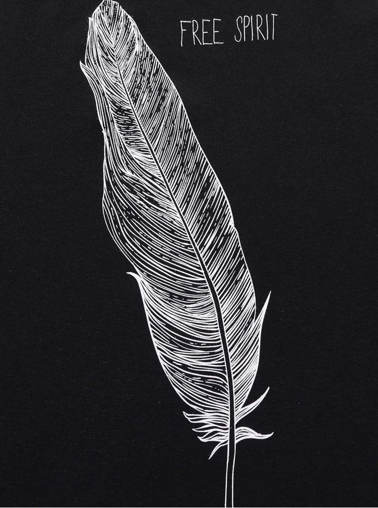 Maiou de damă ZOOT Originál negru cu print