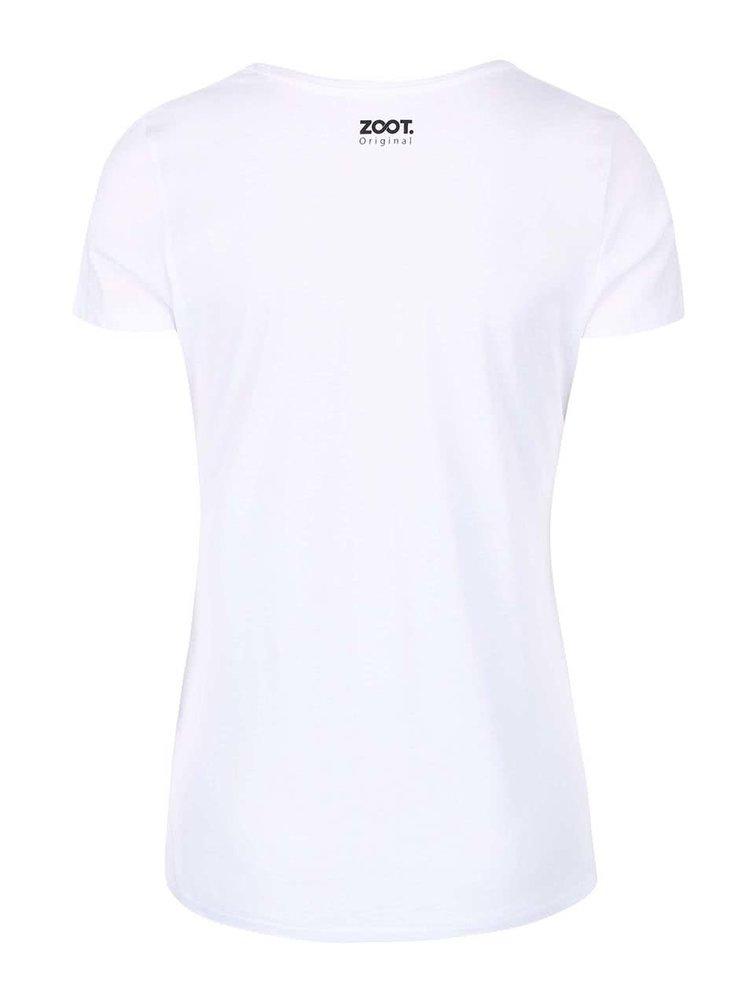Bílé dámské tričko ZOOT Originál Lapač snů