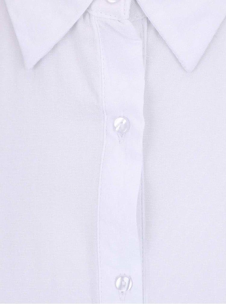 Biela dlhá blúzka bez rukávov Haily´s Elora