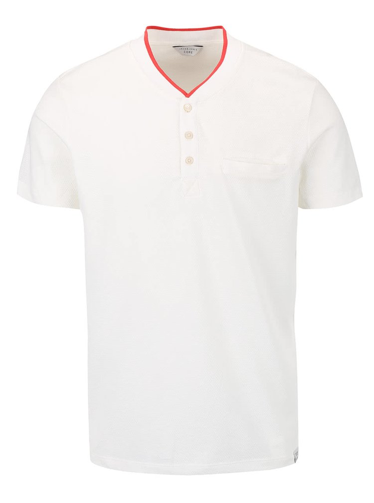 Tricou Jack & Jones Tip crem