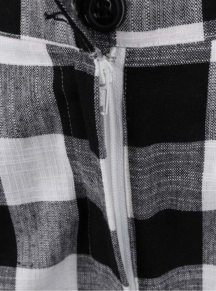 Pantaloni scurti de dama Dorothy Perkins alb cu negru