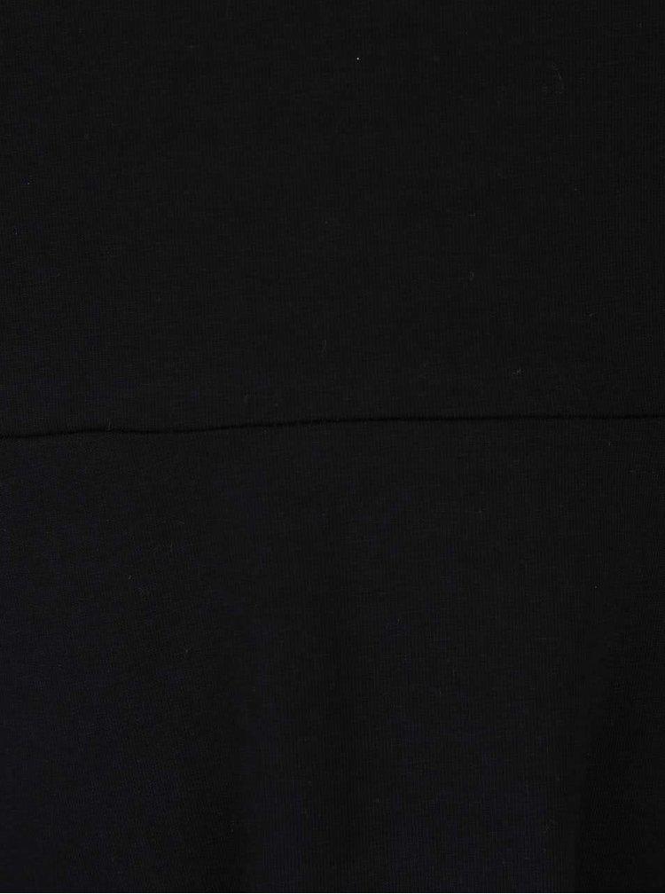 Černé šaty s krajkovými lemy Dorothy Perkins Curve