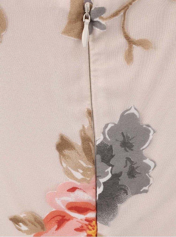 Rochie cu imprimeu Anna Smith crem