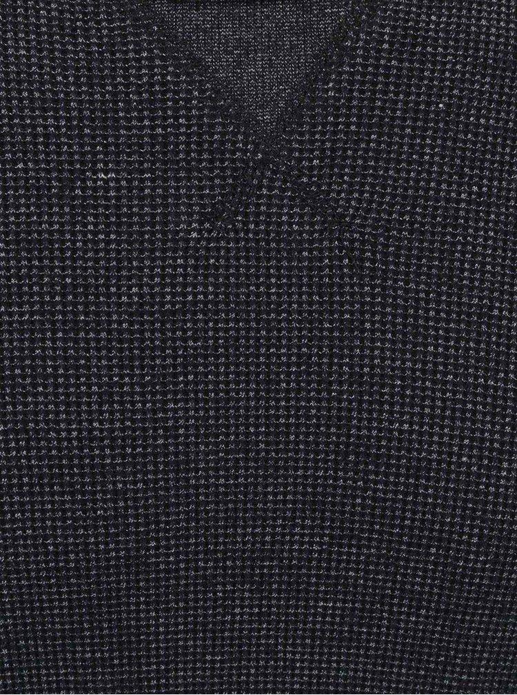 Pulover de bărbați Only&Sons James gri-negru