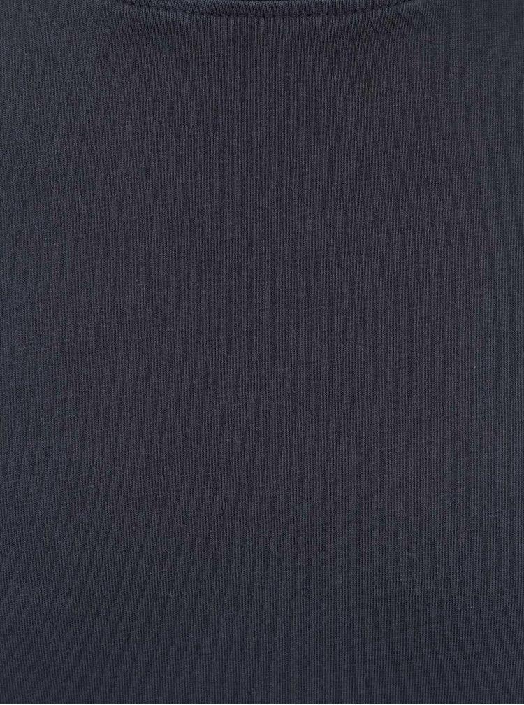 Tmavomodré tričko ONLY & SONS Kanta