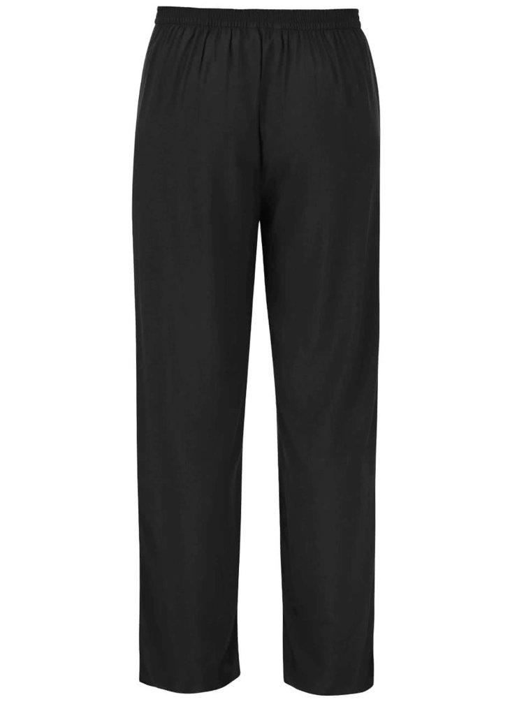 Čierne voľnejšie nohavice ONLY Nova Plain