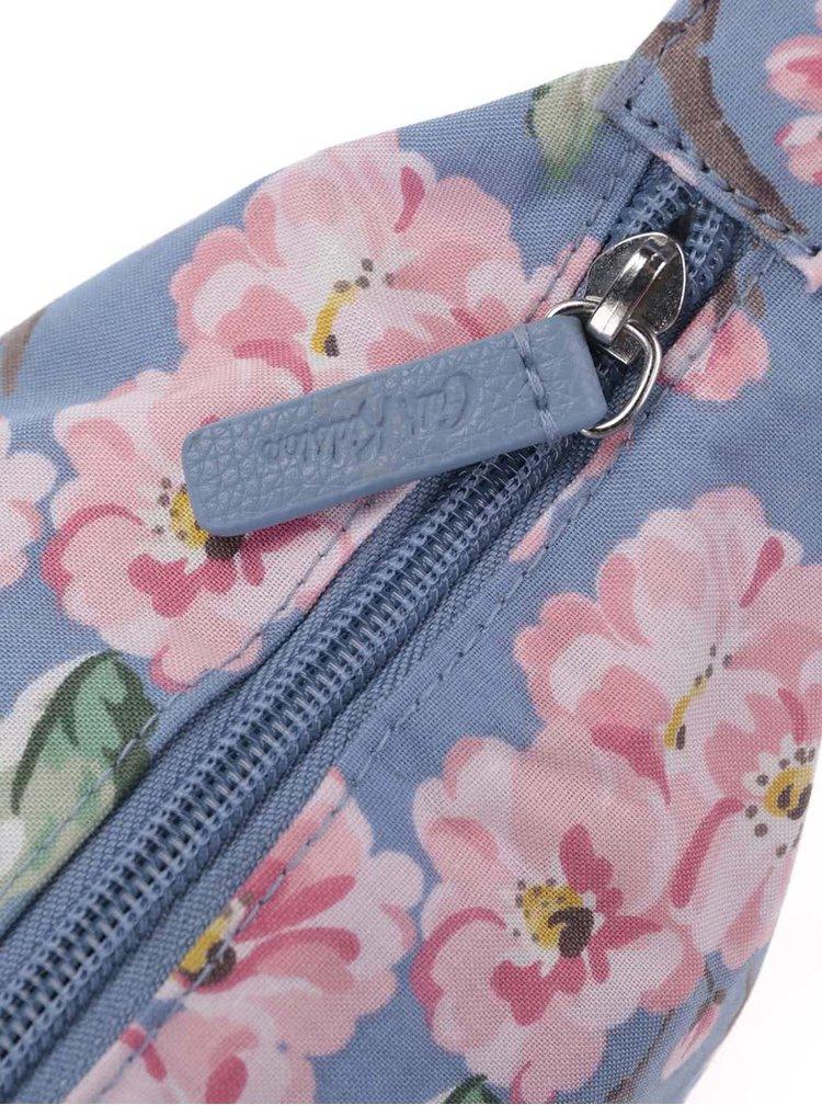 Modrý květovaný shopper Cath Kidston