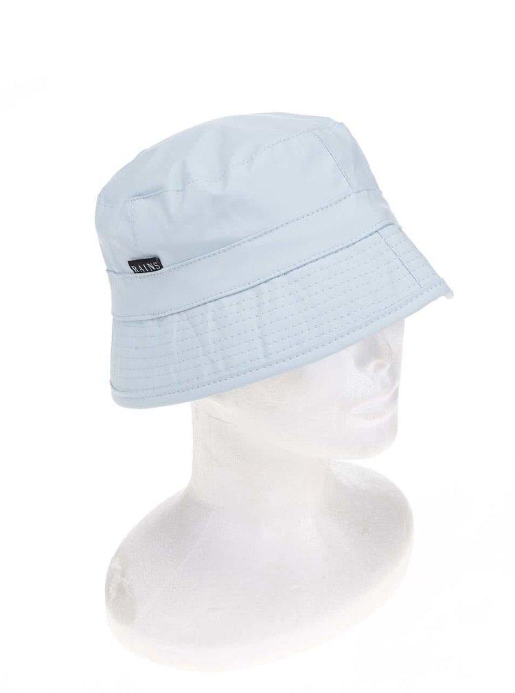 Světle modrý klobouk Rains