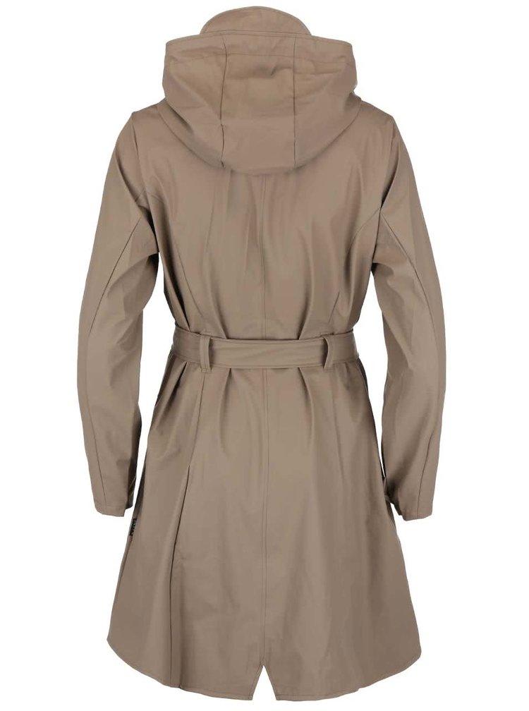 Jacheta impermeabila pentru femei Rains - maro