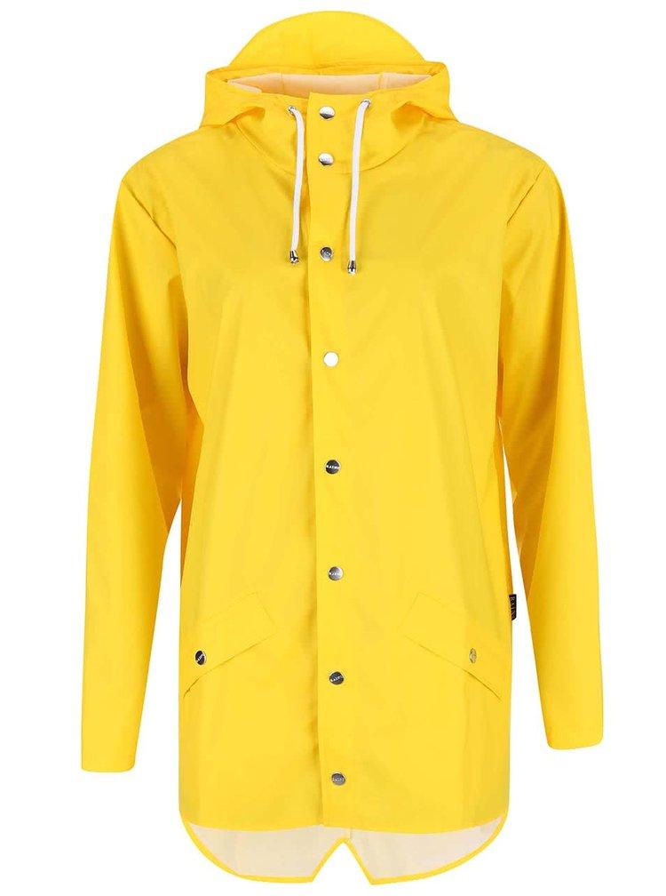 Žlutá dámská pláštěnka RAINS