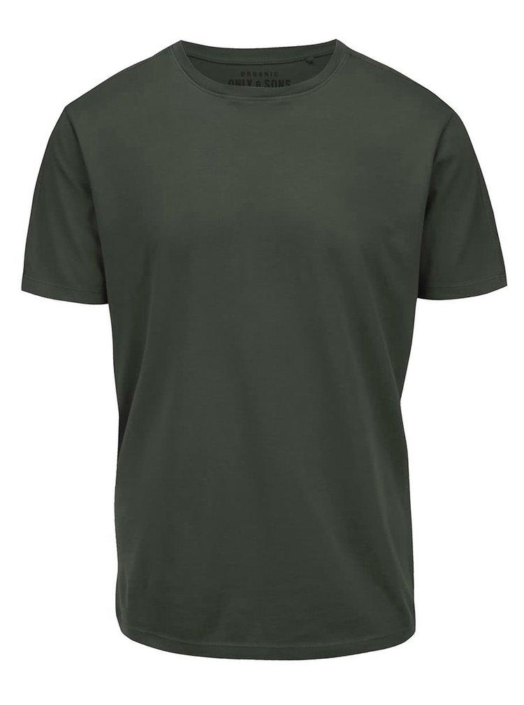 Zelené tričko Only & Sons Kanta