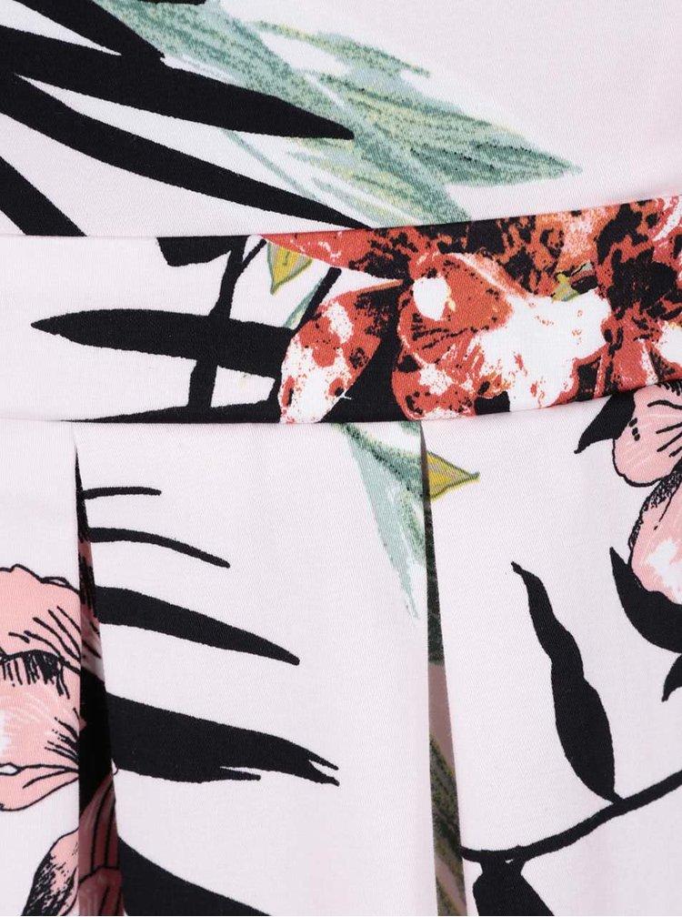 Rochie roz pal Dorothy Perkins cu model floral