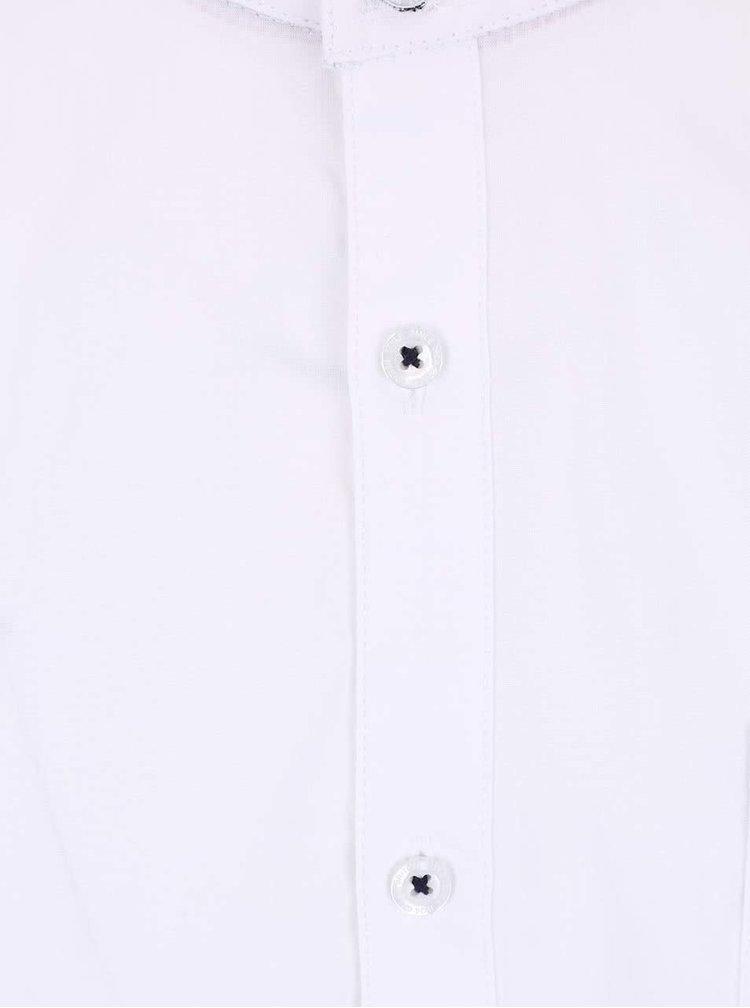 Cămașă Burton Menswear London albă cu guler îngust