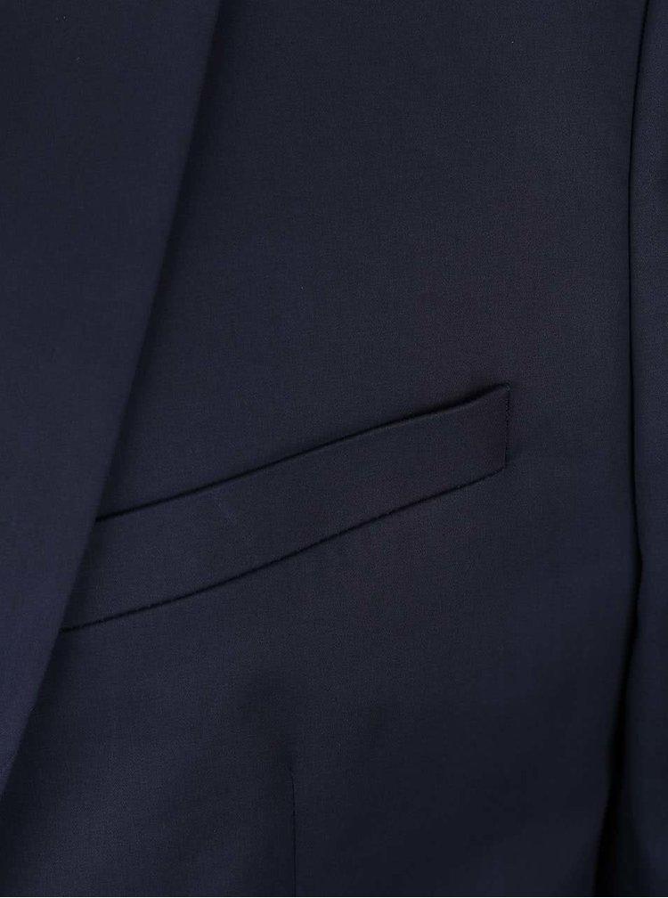 Sacou de bărbați Burton Menswear London albastru închis