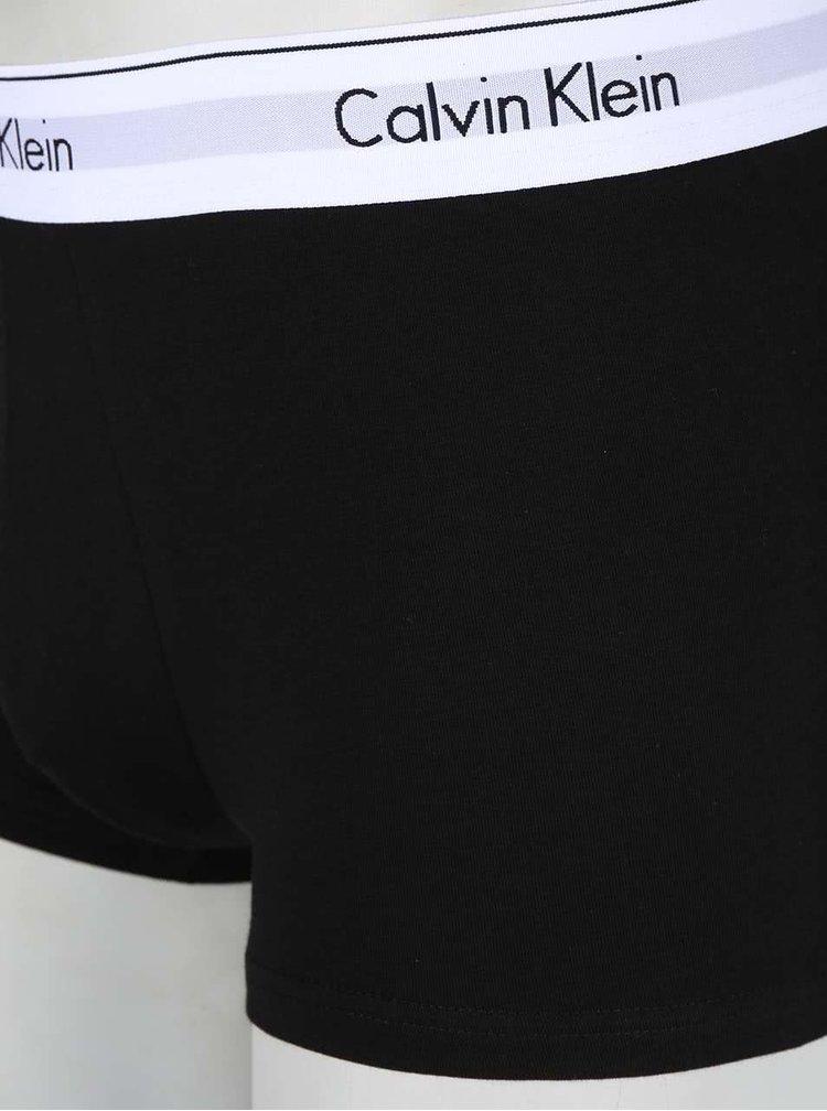 Sada dvou boxerek v černé a šedé barvě Calvin Klein