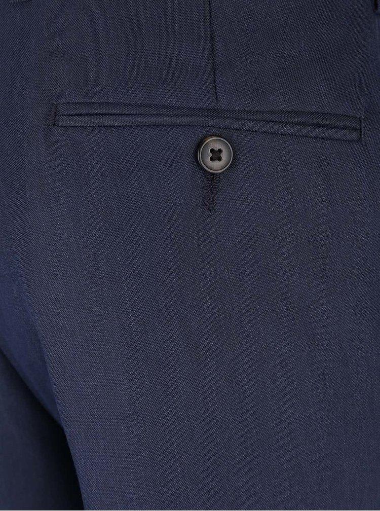 Pantaloni slim fit Burton Menswear London albastru inchis