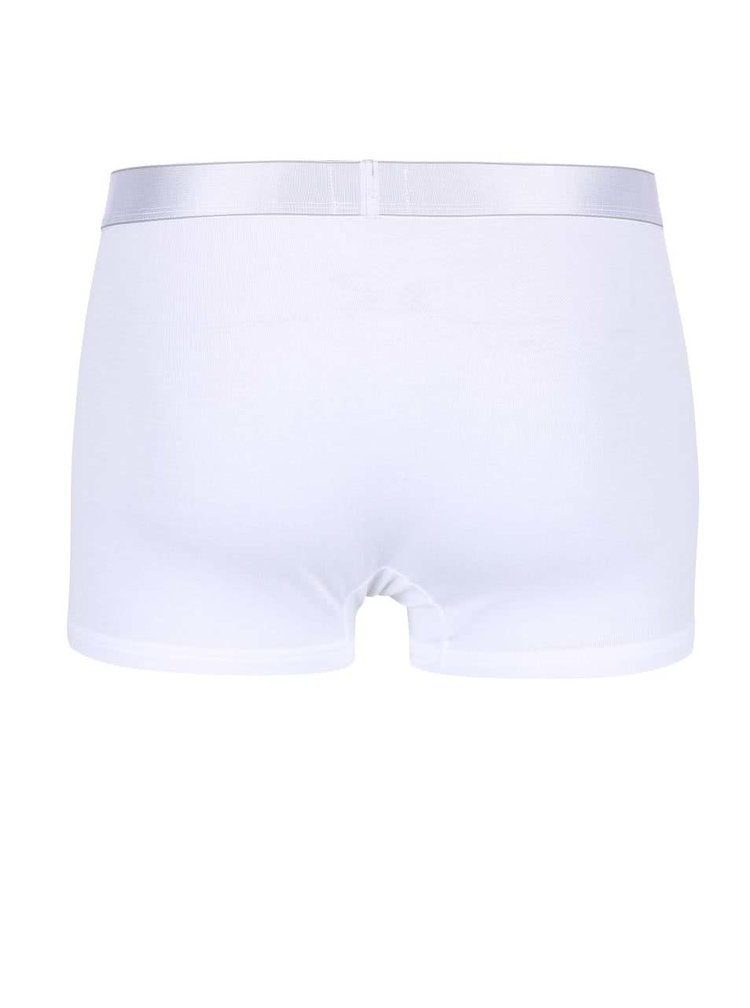 Bílé kratší boxerky Calvin Klein