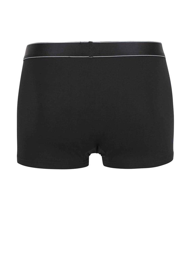 Černé kratší boxerky Calvin Klein