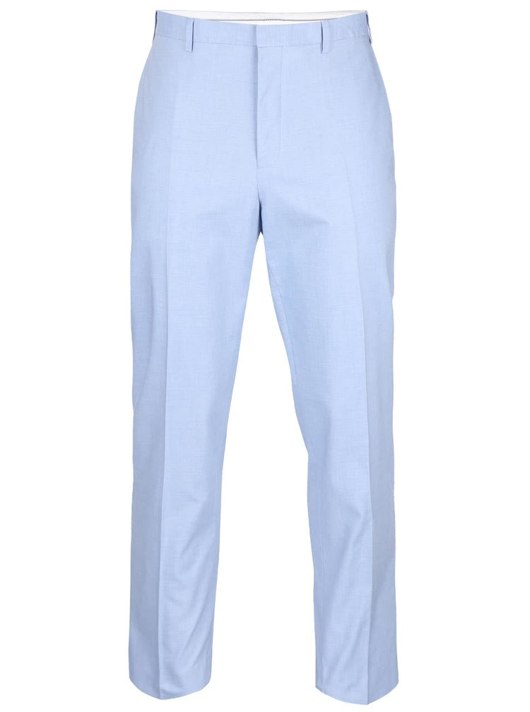 Světle modré slim fit kalhoty Burton Menswear London