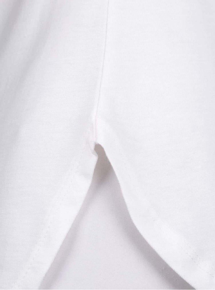 Krémové tričko s květinovým potiskem Dorothy Perkins