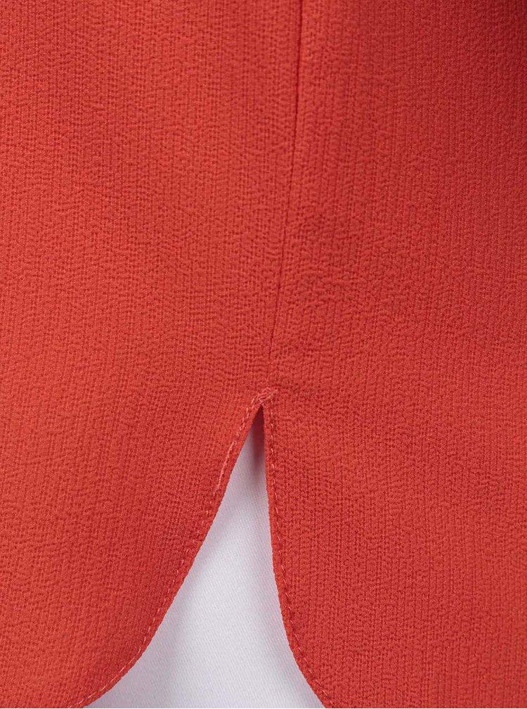 Rochie portocalie Dorothy Perkins cu buzunare decorative