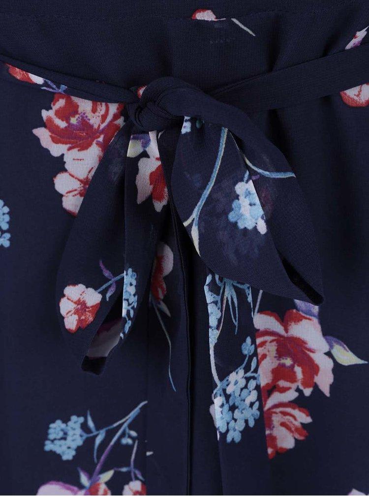Rochie Dorothy Perkins Petite albastru închis cu imprimeu floral
