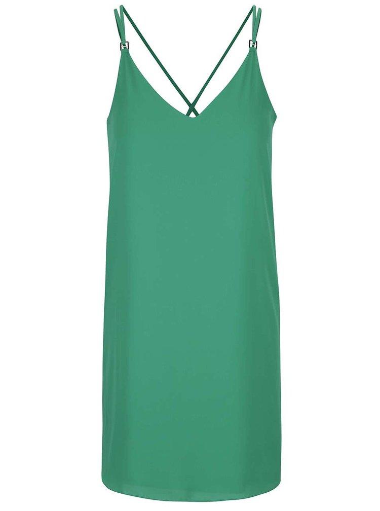 Zelené šaty na ramienka Dorothy Perkins