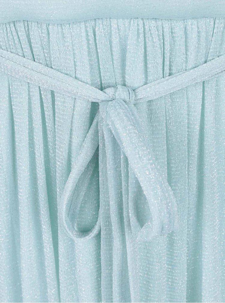 Mentolové třpytivé šaty Dorothy Perkins