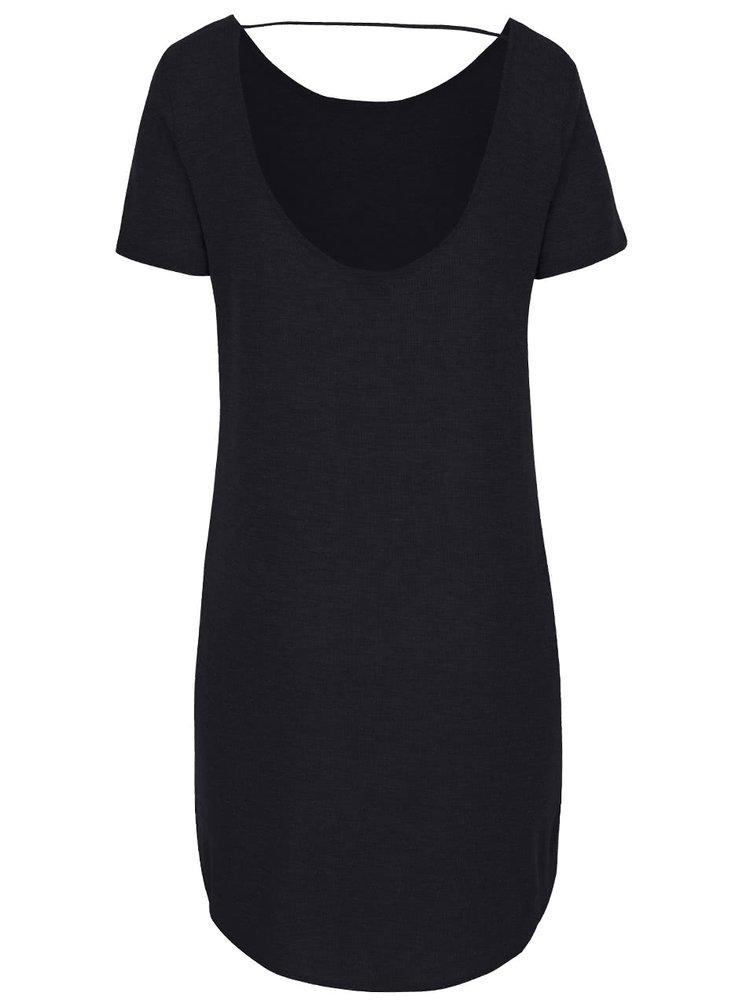 Čierne dlhé tričko VILA Silla