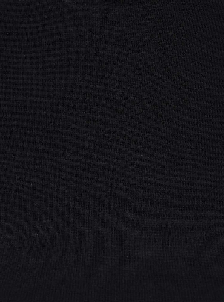 Černé dlouhé tričko VILA Silla