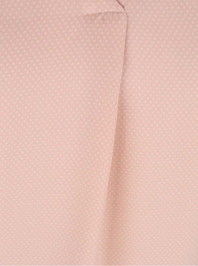 Světle růžová halenka s puntíky VILA Melli