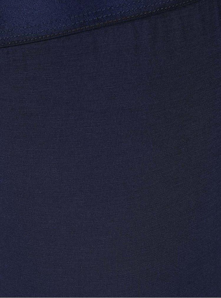 Tmavě modré kratší boxerky Calvin Klein