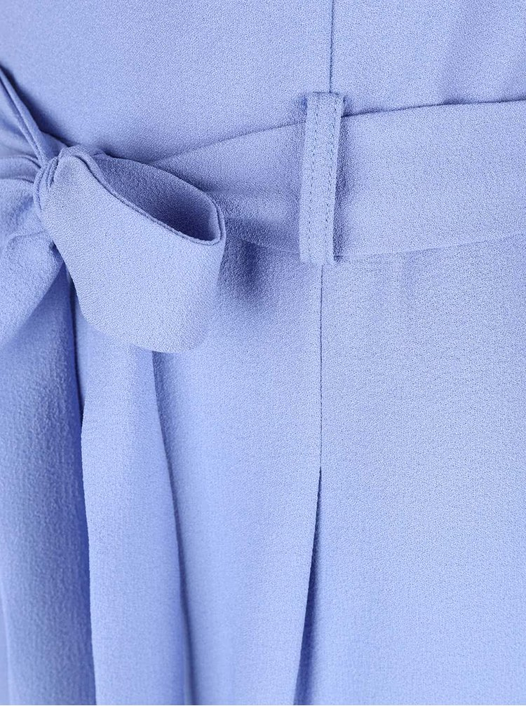 Světle modrý overal na ramínka Miss Selfridge