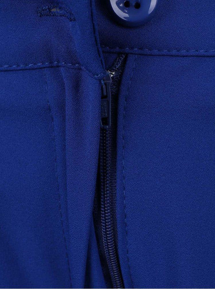 Tmavě modré skládané kraťasy Alchymi