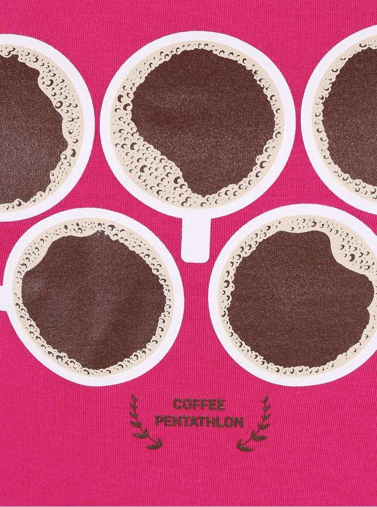 Ružové dámske tielko ZOOT Originál Coffee Penthatlon