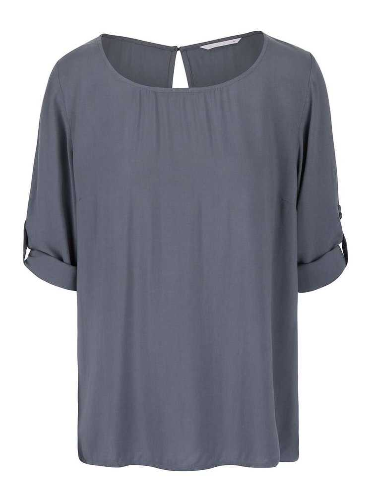 Bluza gri ONLY Geggo  cu maneci reglabile